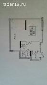 Продам 52м² в новом доме, отд. вход, потолок 2,77м