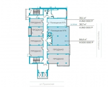 Продам 84м под офис в БЦ Парус, 6 этаж