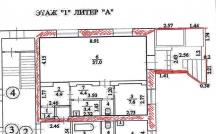 Сдам 60м, 1 линия, рядом остановка, отдельный вход