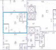 Сдам 62 кв.м в ЖК Эко Лайф Весна отд. вход, 1 линия, потолок 3,5м
