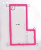 Сдам 110м² под магазин, 1 линия, отд.вход