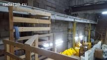 Сдам склад/произ-во 500 м² с кран-балкой